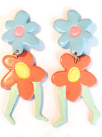 Double-flower-earrings