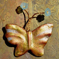 Papillon-brooch